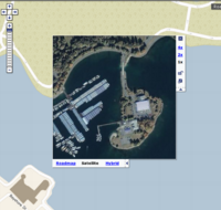 Deadman's Island on Look Local via Windows Live Maps