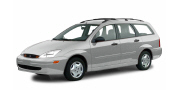 [Ford Focus wagon, silver]