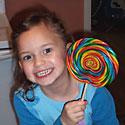 Photo at age 5, January 2005