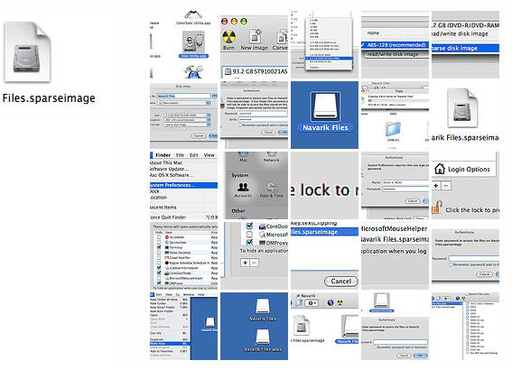 Mac OS X encryption tutorial at Flickr