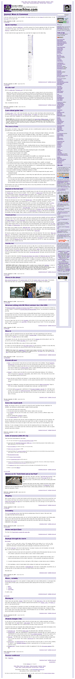 [Full-length view of penmachine.com home page, shrunk to fit]