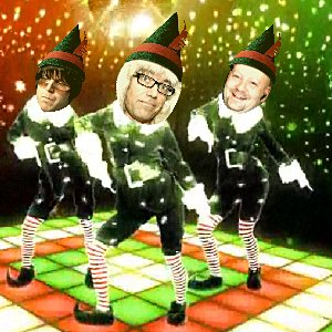 Sean, Derek, and Paul, musical elves