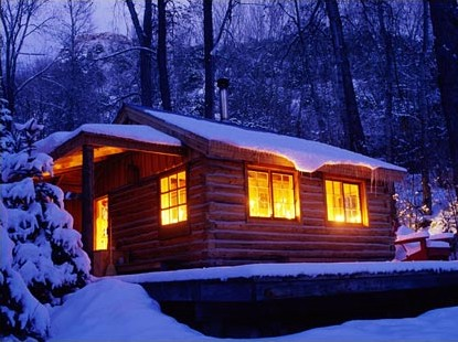 [Winter cabin from Apple]