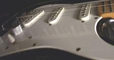 [Derek's Stratocaster guitar]